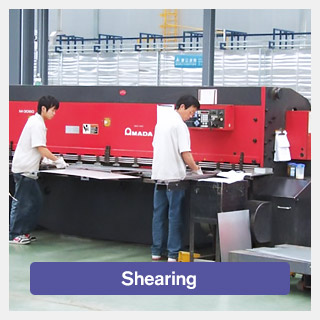 Metal Sheet Shearing