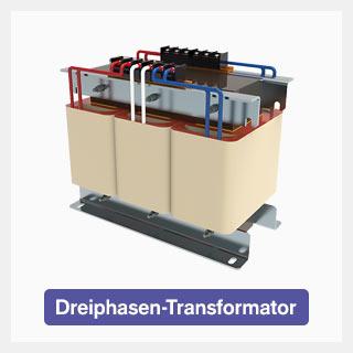 Dreiphasen-Transformatoren