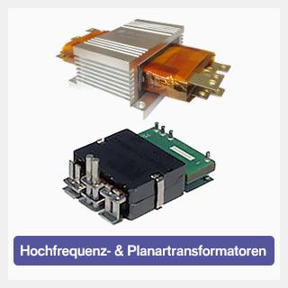 Hochfrequenz- & Planartransformatoren