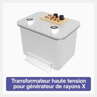 Transformateur haute tension pour générateur de rayons X