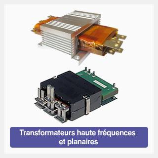 Transformateur haute fréquence et planaires